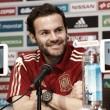 """Juan Mata: """"Tengo mucha ilusión de que Julen me llame y jugar mi tercer mundial"""""""