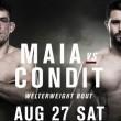 Demian Maia enfrenta Carlos Condit neste sábado em busca de chance por cinturão
