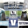Manchester City vs Tottenham Hotspur Live Stream Score Commentary in Premier League 2016