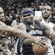 Entrenamiento para los Spurs en el 'Game 1'