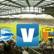 Deportivo Alavés vs UE Llagostera en directo en Segunda División 2016 (0-0)