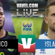México vs Islandia en vivo online en partido amistoso