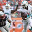 Dolphins mejoró su defensa y dio vuelta a Patriots