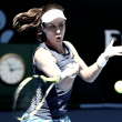 "Australian Open: Johanna Konta ""very happy to have come through"" her opening match"