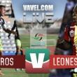 Mineros Zacatecas vs Leones Negros UDG empatan en Semifinales de Ascenso MX 2016 (1-1)