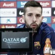 """Jordi Alba: """"Han sido mejores y hay que reconocerlo"""""""
