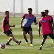 Cuatro entrenamientos para preparar el duelo contra el Leganés