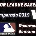 Resumen MLB, temporada 2019:semana de apertura