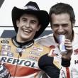 """Marc Márquez: """"Estamos muy contentos de ir a Jerez con una pequeña ventaja"""""""