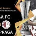 Slavia de Praga, rival de octavos del Sevilla en UEL