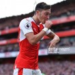 Arsenal 3-2 Swansea City: Gunners seal three points in tense affair