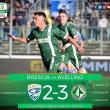 Serie B: l'Avellino rimonta ed espugno il Rigamonti
