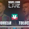 Resumen y goles del Morelia 1-3 Toluca en Liga MX 2019