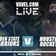 Golden State Warriors vs Houston Rockets en vivo y en directo online en NBA 2017/18