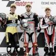 Moto2 Podium finishers discuss outcome at Brno