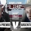 Resultados clasificación GP de Argentina de Moto3 de 2016
