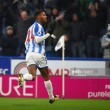 Huddersfield Town striker Steve Mounié feeling confident after netting twice against Brighton