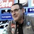 """Napoli, Sarri in conferenza: """"Sarà una partita difficilissima"""""""