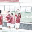 El Real Murcia gana en medio de la tormenta