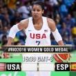 Rio 2016, Finale Basket femminile: Team Usa - Spagna per la gloria olimpica