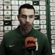 """Francisco Nájera: """"La hinchada nos pide que entreguemos todo en este partido y lo ganemos"""""""