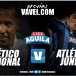 Previa Atlético Nacional vs Atlético Junior: Los 'verdes' se pondrán al día en la Liga Águila 2017