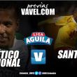 Atlético Nacional vs Santa Fe: A saldar cuentas pendientes