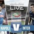 Risultato Napoli - Inter live di Serie A 2015/16 (2-1): Higuain ne fa due, l'Inter sfiora il pari nel finale