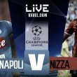 Diretta Napoli - Nizza, LIVE Play-off Champions League 2017-2018