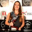 Natalia Cuglievan brilló en la entrega del Colibrí de Plata