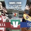 Necaxa vs Tigres en vivo online en Liga MX 2018 (0-0)