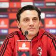 """Milan, Montella in conferenza: """"Non mi disturba leggere di altri allenatori"""""""