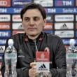 """Montella in conferenza stampa: """"E' il momento di dimostrare che abbiamo orgoglio da Milan"""""""