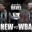 Newcastle vs West Bromwich Albion: lucha por la tranquilidad