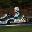 Gianluca Petecof corre na Suécia no encerramento do Campeonato Europeu de Kart