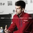 """Novak Djokovic: """"Mi segundo saque no está funcionando muy bien"""""""