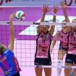 Volley, serie A1F: Igor Gorgonzola Novara batte 3-2 Pomì Casalmaggiore
