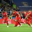 Inglaterra quebra maldição e está nos quartos