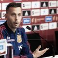 Sergio Canales durante la conferencia de prensa / Fotografía: EFE