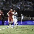 Fecha de eliminatorias sudamericanas, con acento Riverplatense