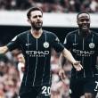 Autores dos gols do City, Sterling e Bernardo Silva exaltam a vitória e desempenho dos jogadores