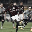 Alessandria 0-1 Milan: Balotelli penalty gives visitors first leg win