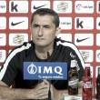 """Valverde: """"Van a jugar los tres porteros"""""""