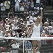 Sharapova is shaky but reaches the quarter-finals at Wimbledon 2015