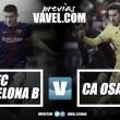 Previa FC Barcelona B – CA Osasuna: sumar de tres en tres