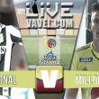 Resultado Nacional vs Millonarios en Liga Águila 2015-II (1-0)
