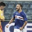 Sampdoria ok con doppietta di Quagliarella. Buono l'esordio del Benevento (2-1)
