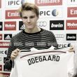 Real confirm signing of Martin Odegaard