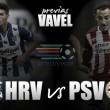 Heerenveen - PSV: lucha por el podio