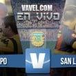 Olimpo vs San Lorenzo en vivo AHORA (1-1)